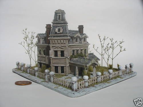 Best of Z scaleabove the Addams Family House by David Boldt  aka sboldt